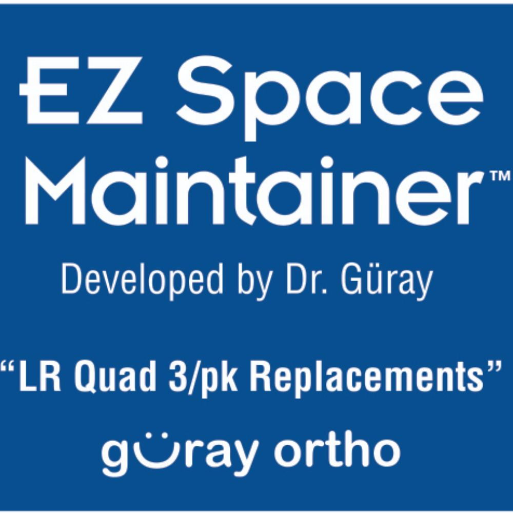 EZ Space Maintainer Lower Right (3 pieces)