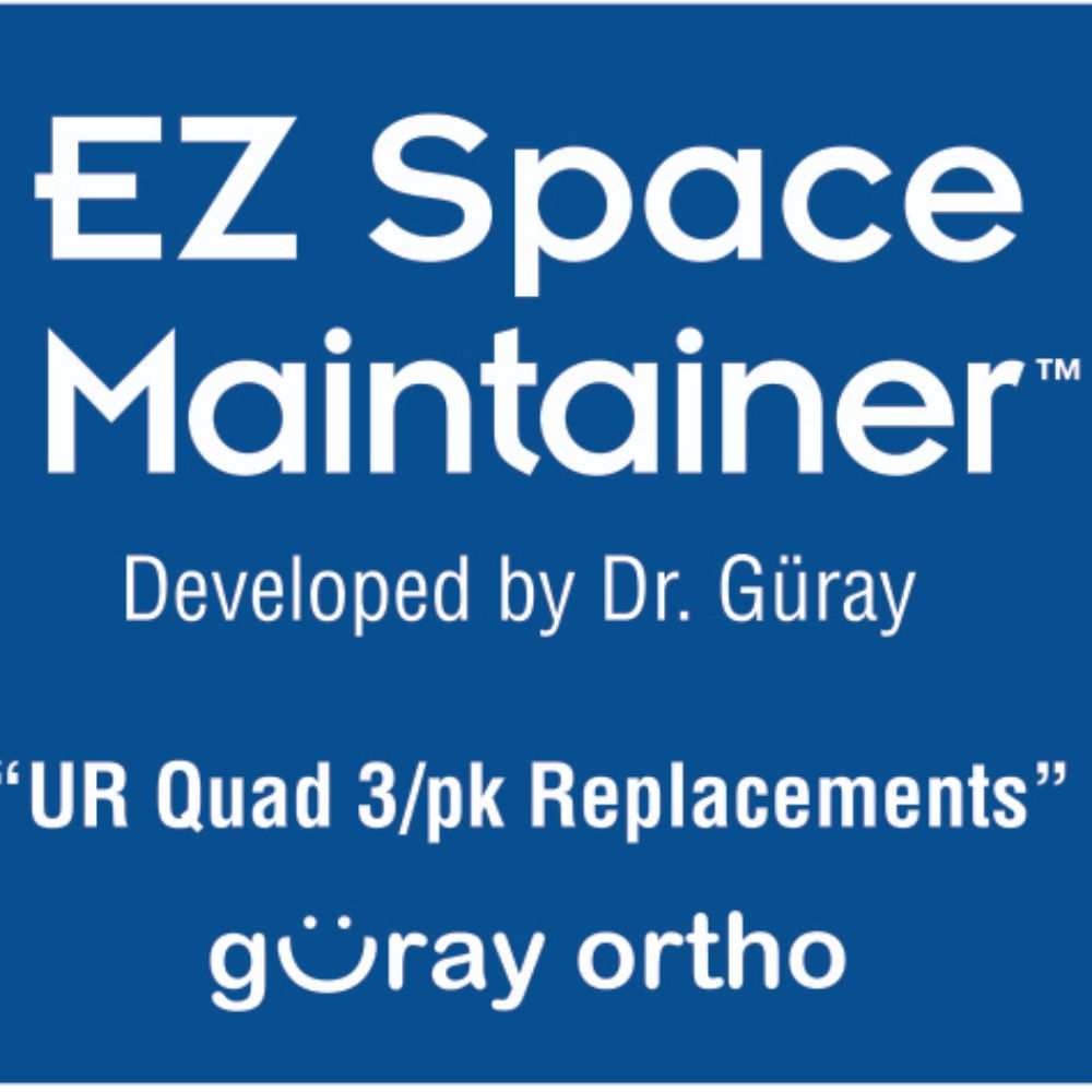EZ Space Maintainer Upper Right (3 pieces)