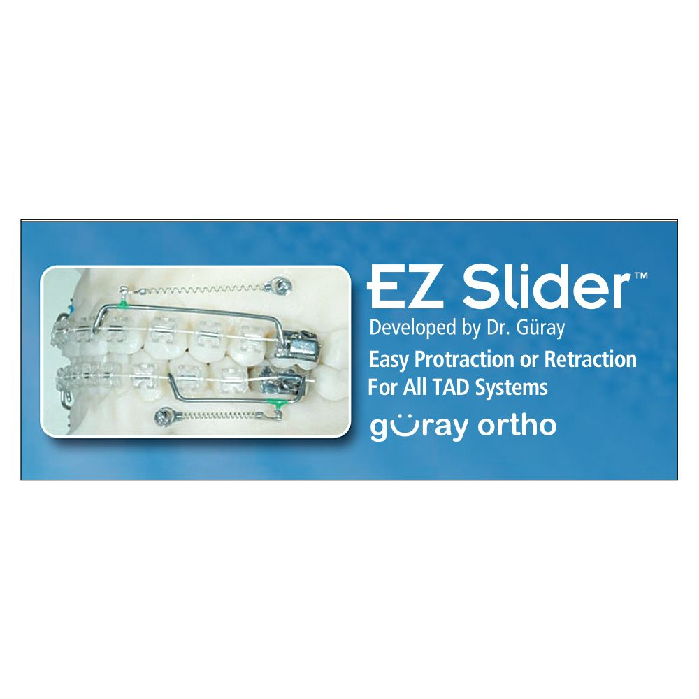 EZ Slider Easy Protraction or Retraction For All TAD Systems