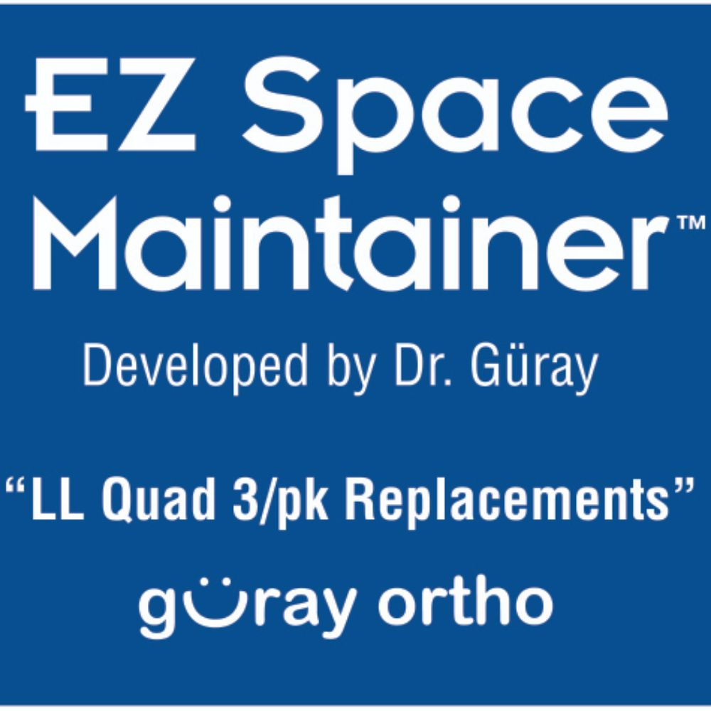 EZ Space Maintainer Lower Left (3 pieces)